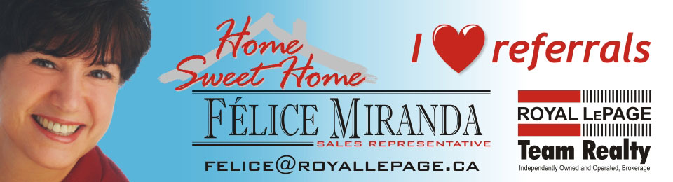 Listings for Sale, lease and rent. - Félice  Miranda Royal LePage Team Realty